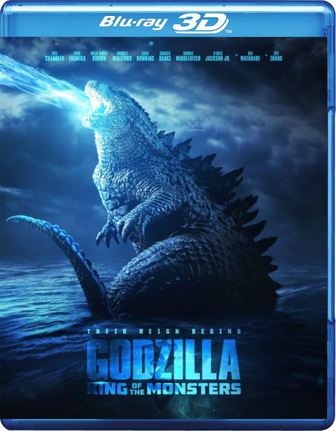 Godzilla: King of the Monsters [2019] [BD50] [Latino] [3D]
