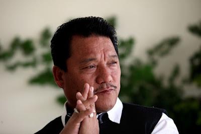 Bimal Gurung in Delhi