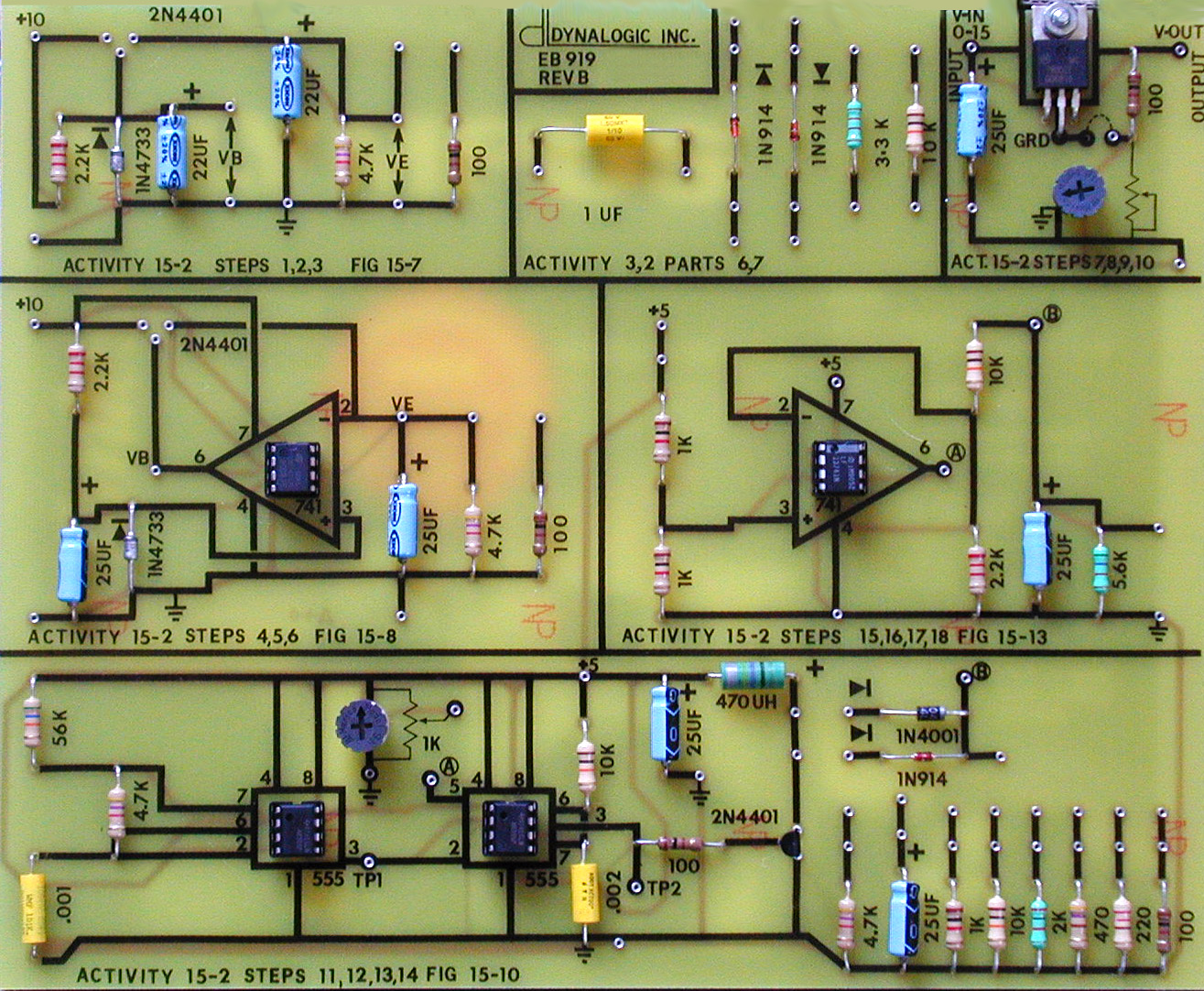 Delta To Wiring Diagram Auto Electrical R5 Hanra 110 Quad Regulated Power Supplies Circuit Board