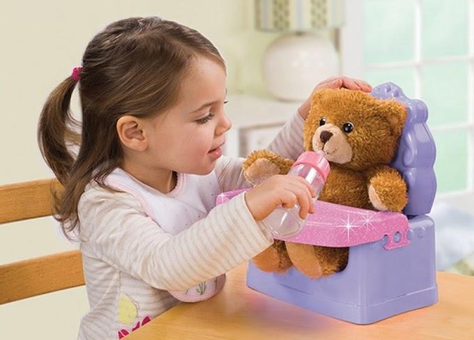 Lợi ích của gấu bông với sự phát triển của trẻ em
