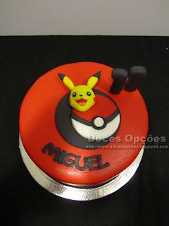 pikachu pokemon birthday cake