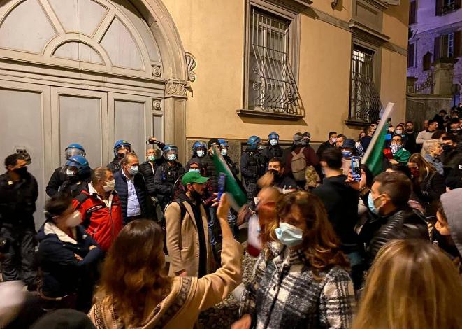 """Bergamo protesta contro il lockdown. Gori: """"Restiamo uniti"""""""