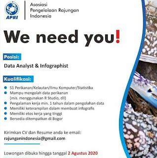 Data Analyst di Asosiasi Pengelolaan Rajungan Indonesia
