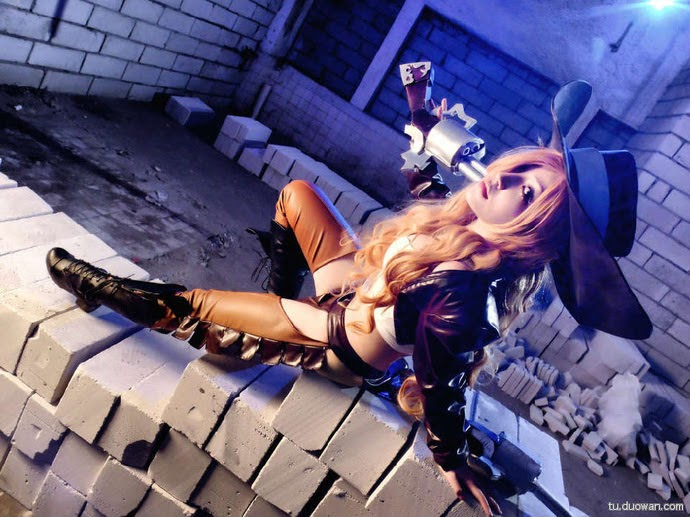 Cosplay Miss Fortune - League of Legends P3