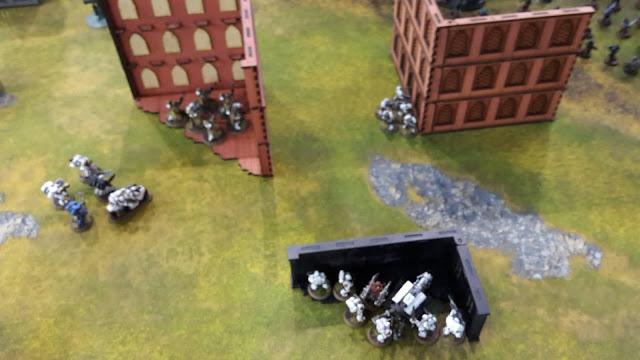 Beachhead Brawl Battle Report: Game 5- White Scars vs Chaos Space Marines/Knights