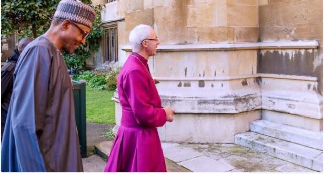 #EndSARS: I've asked Buhari to protect lives, says Archbishop of Canterbury