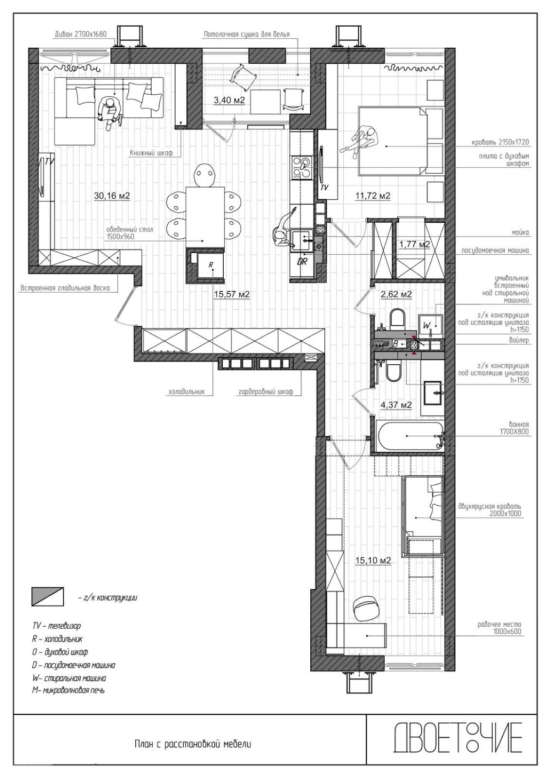 Denah Interior Rumah Minimalis Sederhana