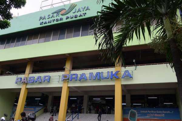 Cara Kereta KRL ke Pasar Pramuka Naik
