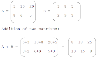 C++ Program to Add Two Matrix Using Multi-dimensional Arrays