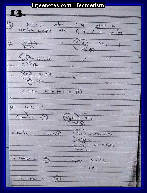 Isomerism13