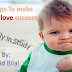 how to teach your son to be succes in her study