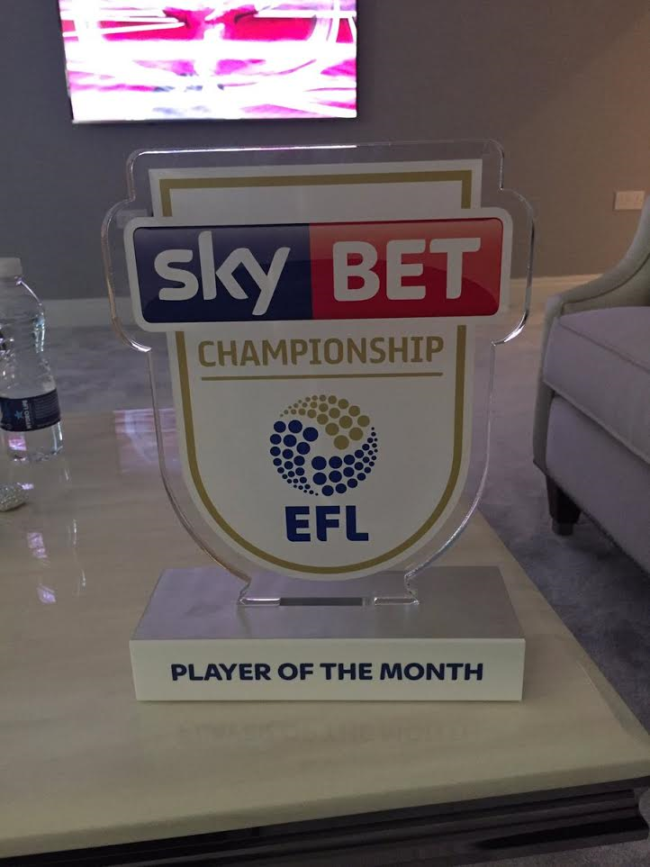 Omatsone Aluko Named English Championship Player Of The Month