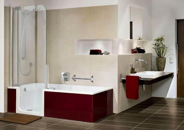 Bade Dusch Kombi