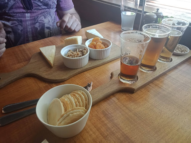 Lunch at the James Boags Brewery