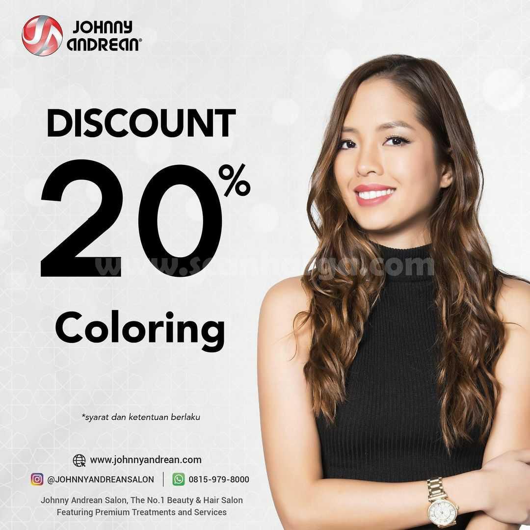 Promo Johnny Andrean Diskon 20% Coloring