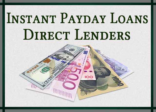 Instant Payday Loans Direct Lenders