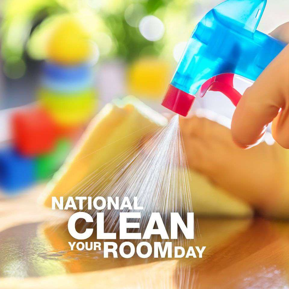 National Clean Your Room Day Wishes Unique Image