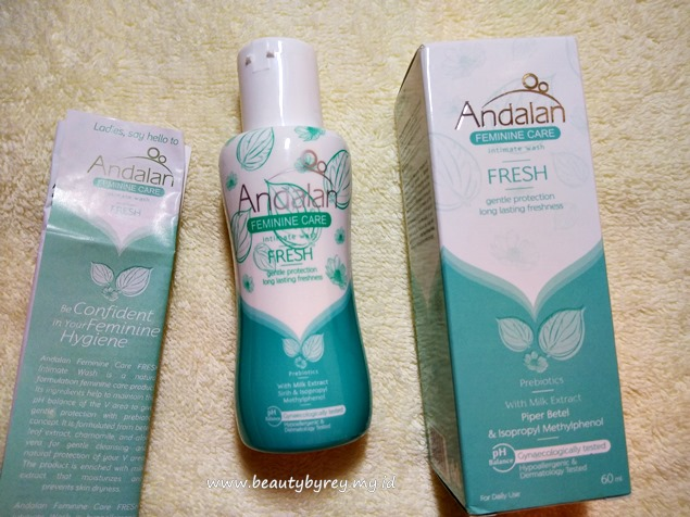 Kemasan Andalan Feminine Care Intimate Wash Fresh