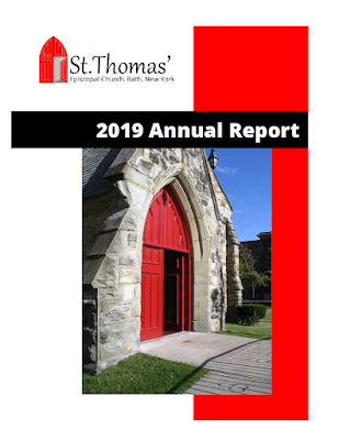 The cover of the 2019 Annual Report