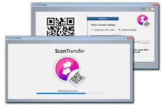 أسرع, برنامج, لنقل, وإرسال, الملفات, من, الهاتف, الى, الكمبيوتر, عبر, الانترنت, ScanTransfer