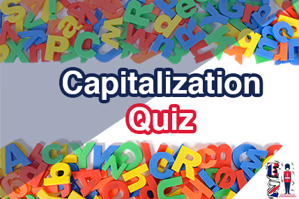 This is a quiz related to the capitalisation lesson