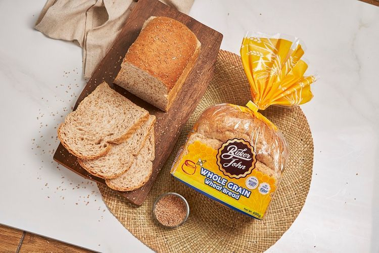 Healthy Baker John wheat bread to make easy sandwich recipes