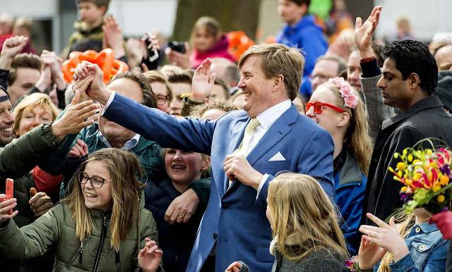 الاحتفال بعيد الملك في هولندا