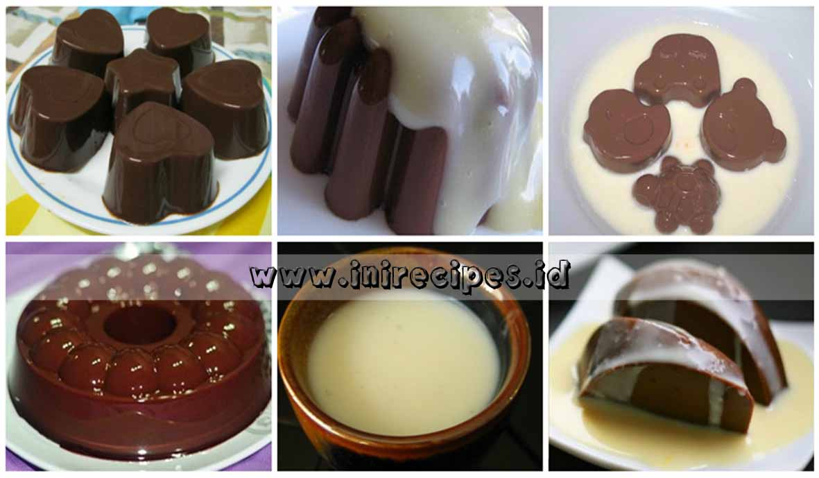 Puding Brownis