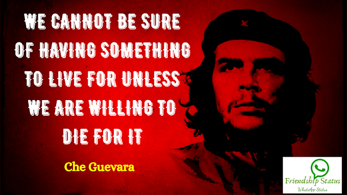 Best 25+ Most Inspirational Che Guevara Quotes
