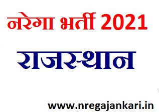 Nrega Bharti 2021 JTA and Account Assistant Recruitment Rajasthan