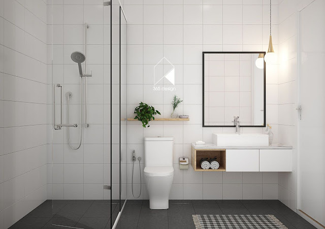 Modern Wall Tiles Design For Bathroom