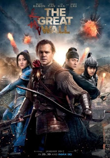 Film The Great Wall 2017 Bioskop