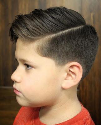 Model Rambut Side Part
