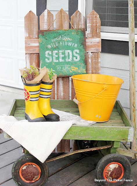 Easy Spring Porch Decorating Ideas