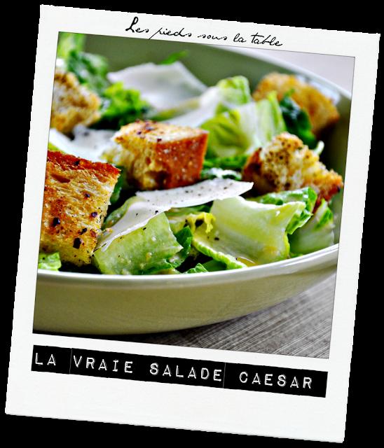 la véritable salade Caesar