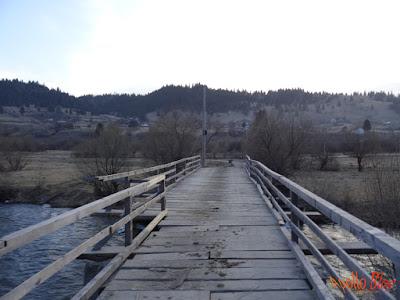Pod peste Mures Toplita Vagani