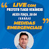 Nesta terça-feira (28), às 18h live com prefeito Tiago Venâncio sobre as medidas emergenciais em combate à COVID-19