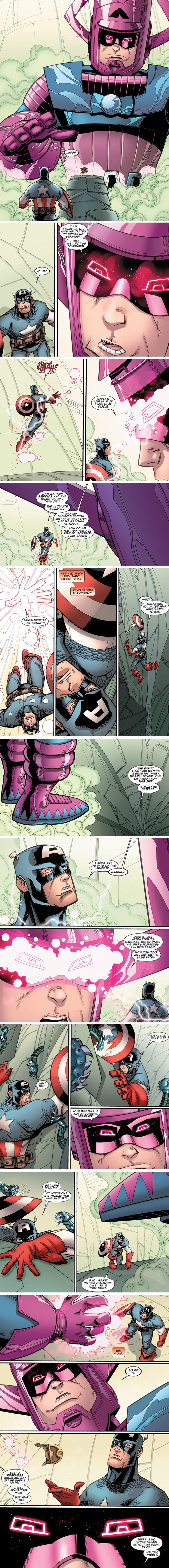"Captain America & the Korvac Saga #4 - ""The Star Lord"" (2011)"
