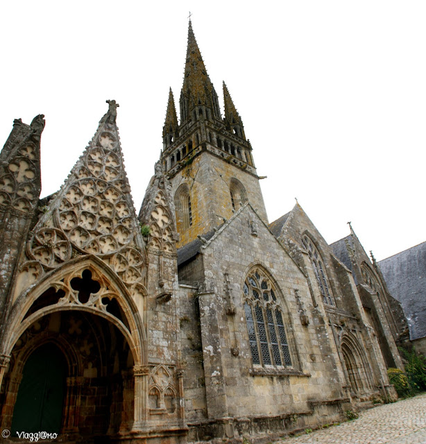 La splendida Collegiata di Notre Dame di Pont Croix