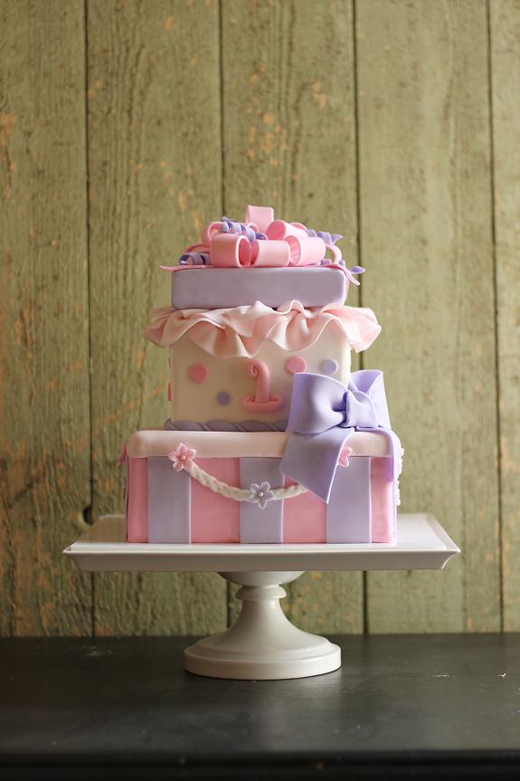 Claras 1st Birthday Cake