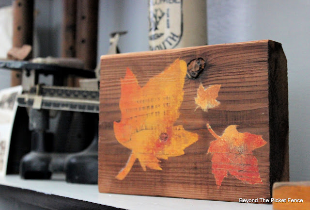 Stencil Easy Fall Decor