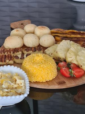 tábua de café da manhã