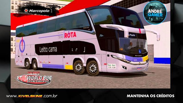 PARADISO G7 1800 DD 8X2 - VIAÇÃO ROTA TRANSPORTES