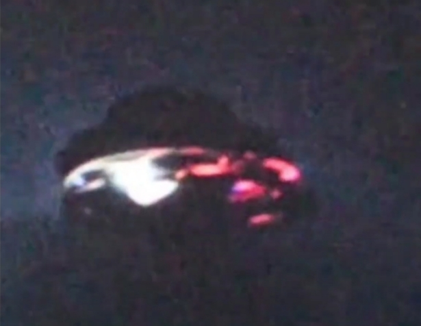 Information is scarce on this UFO video.