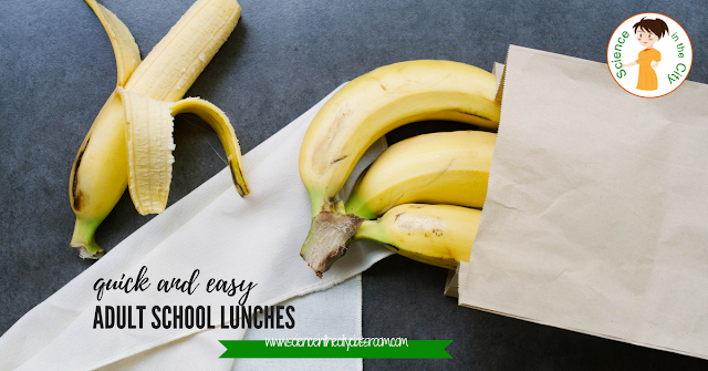 tips and suggestions for quick and easy lunches for teachers