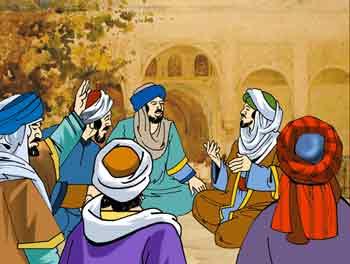 """قصة اسلامية قديمة """"عبد الله يرث وعبد الله لا يرث وعبد الله يرث"""""""