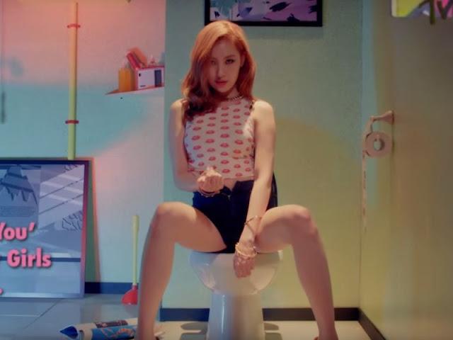 Sunmi Wonder Girls Comeback