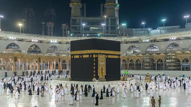 Aparat Saudi Amankan Seorang Pria Teriak Dukung Teroris di Masjidil Haram.lelemuku.com.jpg