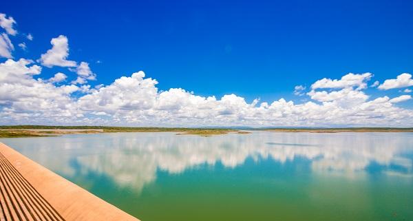 Barragem Santa Cruz do Apodi acumula maior volume dos últimos 6 anos