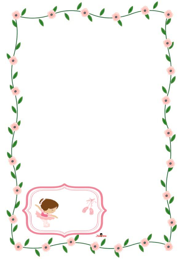 caratulas para cuadernos para niños y niñas de primaria de hermosas flores